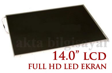 "14.0"" İNÇ LED LTN140AT01 VE B140XW02 - 417 0 418 HD WXGA ..."