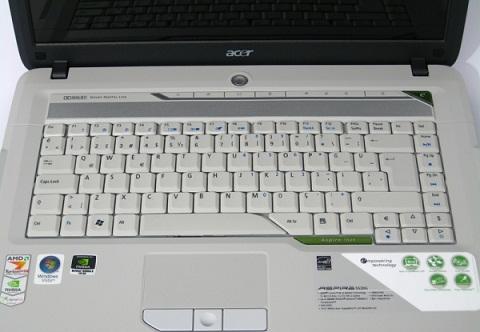 Acer-aspireLAPTOPklavyesi