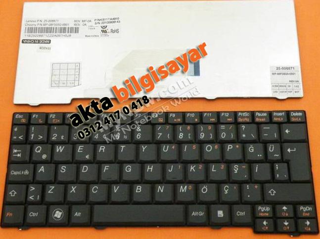 Lenovo-ideapad-S10-2-Klavye-TR