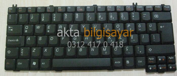 lenovo-3000-n100-n200-v200-C100-klavye-tr-keyboard